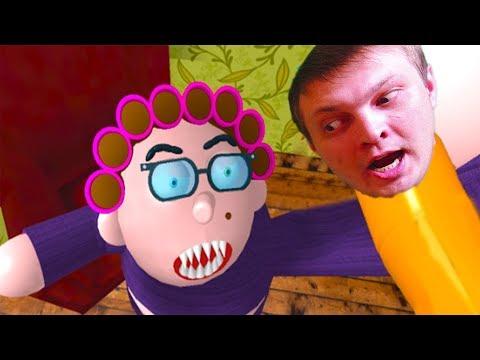 КАНИКУЛЫ у БАБУЛИ в ROBLOX закончились Побегом приключения мульт героя Смешное видео для детей от Ка