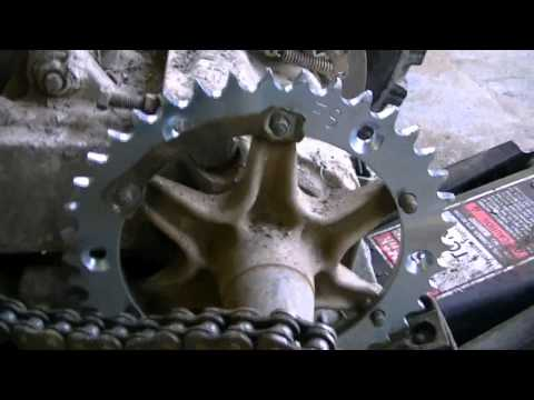 Replacing Chain and Sprockets