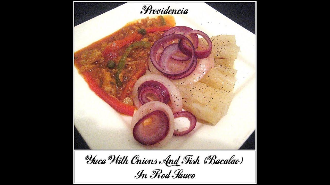 Yuca con bacalao cod fish youtube - Bacalao con garbanzos y patatas ...