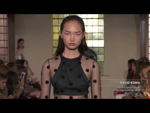 DAVID KOMA London Fashion Week Spring/Summer 2019
