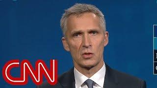 NATO chief refuses to confirm Trump's spending claim