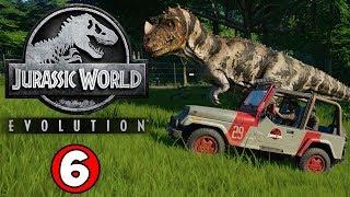 SICK DINOSAURS INBOUND! Jurassic World Evolution Gameplay #6