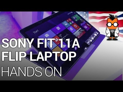 Sony Vaio Fit 11A Flip Laptop [ENG]