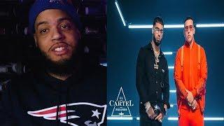 Reaccion Daddy Yankee Anuel Aa Adictiva Audio Oficial Jaycee
