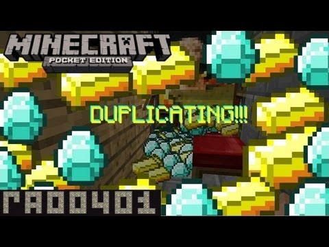 Minecraft Pocket Edition 0.6.1-0.7.6. Duplicating!