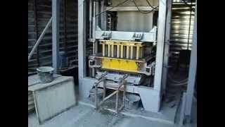 вибро-пресс-автомат прессованного кирпича: