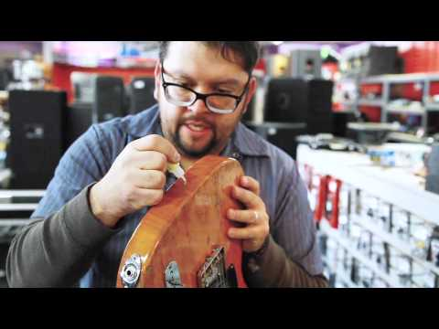 How to repair stripped strap buttons on your electric guitar