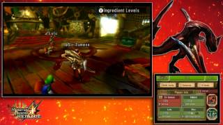 Monster Hunter 4 Ultimate co-op pt2 - Kecha Wacha Hunt