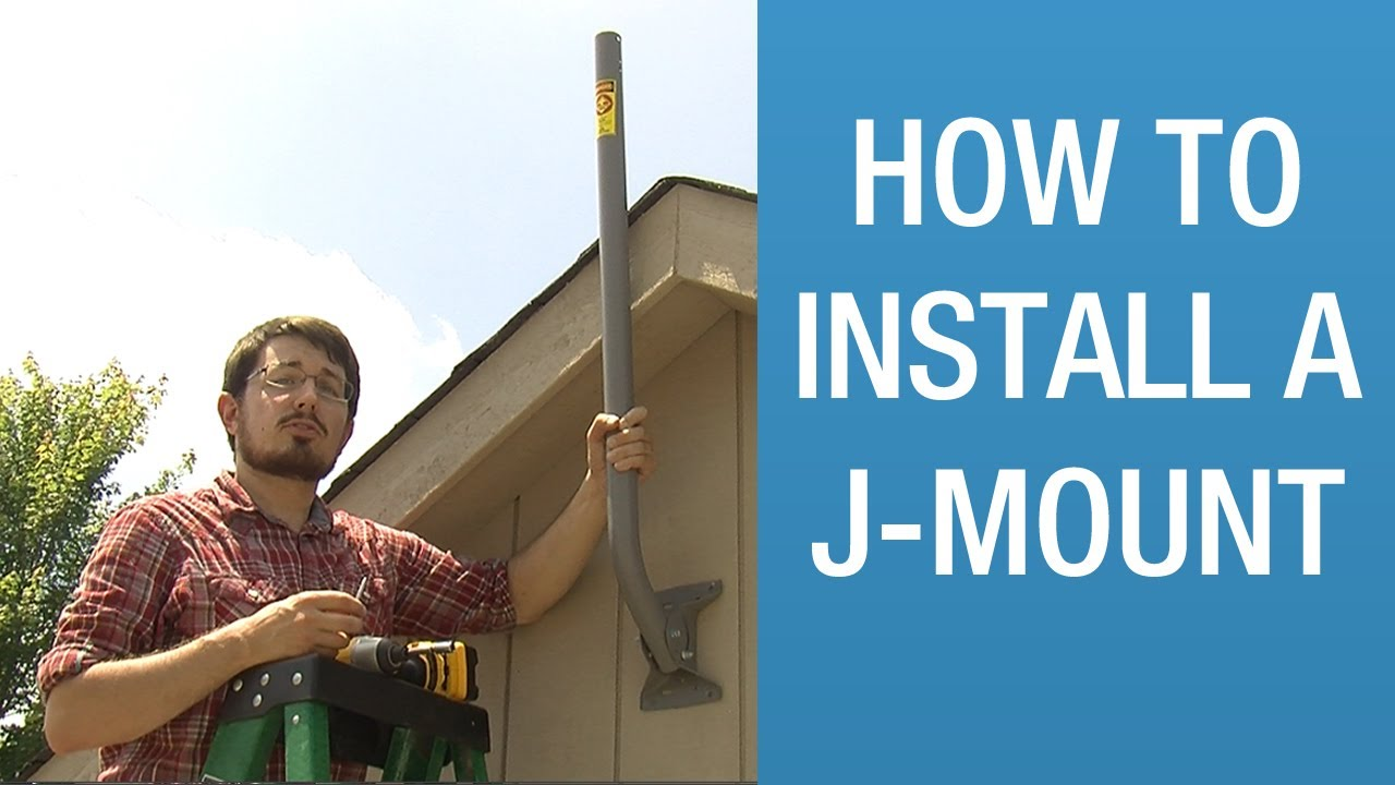 How To Install A J Mount Solid Signal Hands On Youtube