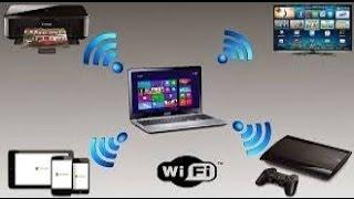 أفضل و أسهل طريقة ل تحويل الكمبيوتر و اللاب توب الى راوتر وايرلس لتوزيع ال wifi