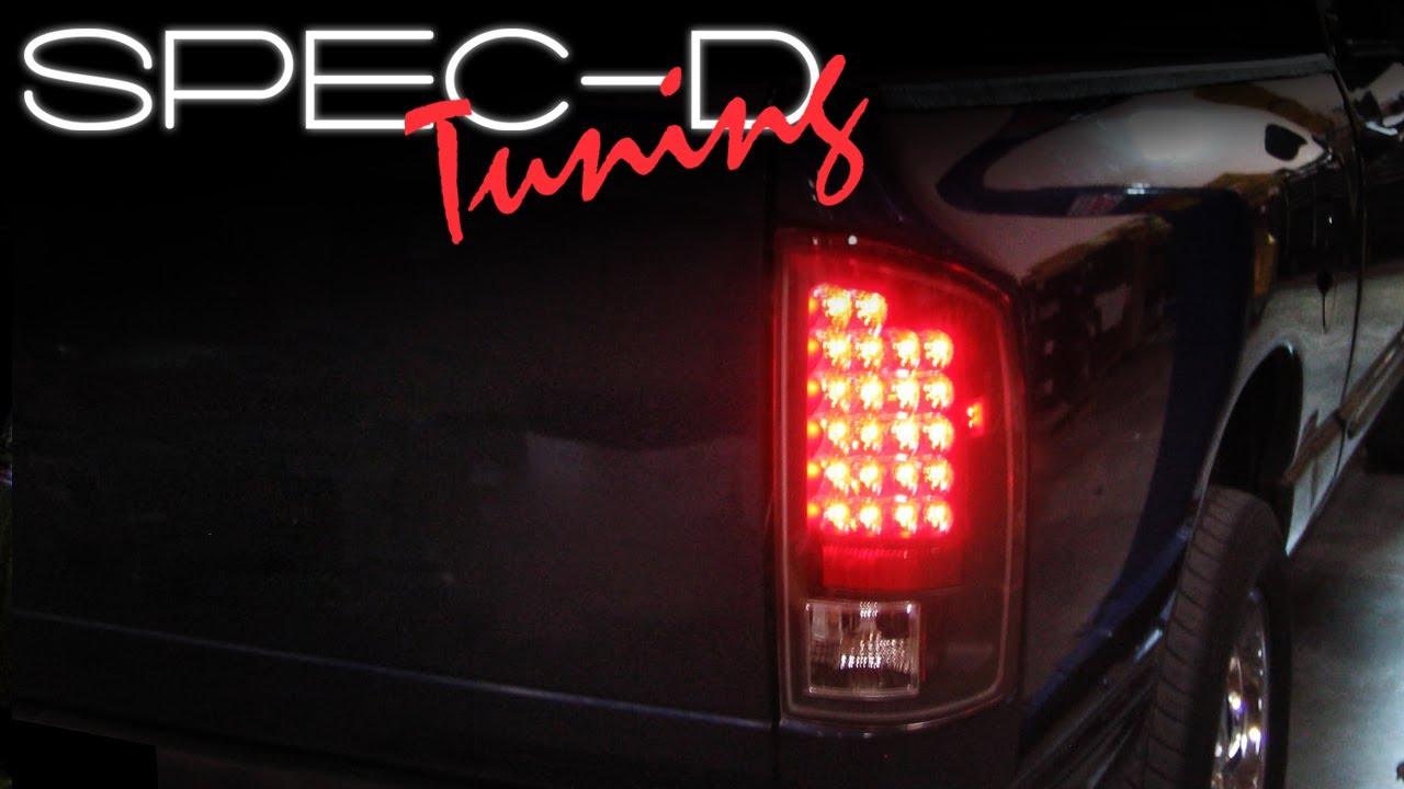 Tail Lights For an 02 Dodge Ram 1500 Dodge Ram Led Tail Lights