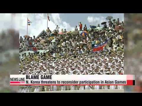N. Korea blames S. Korea's for failure of Asian Games talks