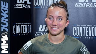 DWCS13: Maycee Barber post-fight interview