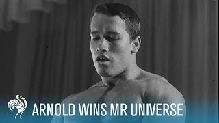 Arnold Schwarzenegger Wins Mr. Universe Bodybuilding Contest (1969) | British Pathé