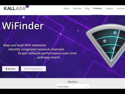 Kallaxa releases WiFinder 1.0 - A GPS-Enabled WiFi Network Mapper