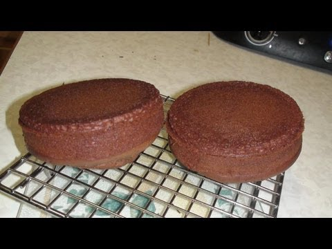 Basic Eggless Chocolate Cake – Video Recipe