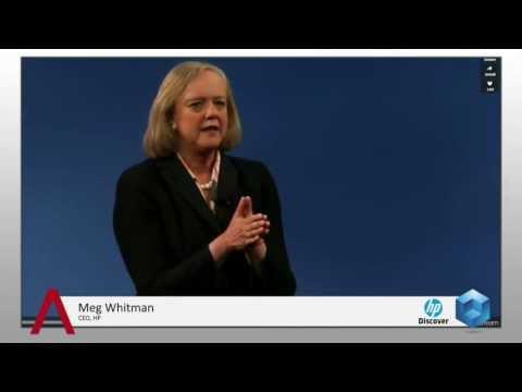 Meg Whitman Keynote - HP Discover 2013 - theCUBE