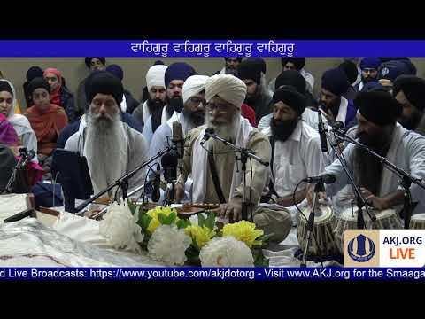 009 Toronto Nov. 2017 Raensabaayee Keertan - Bhai Tejinderpal Singh Jee Doola Veerjee
