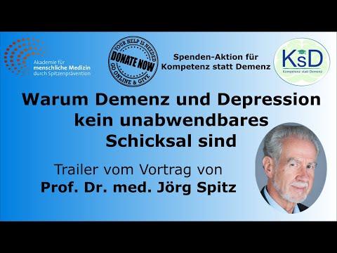 Spitzen-Gesundheit: Warum Demenz und Depression kein unabwendbares Schicksal sind – Trailer