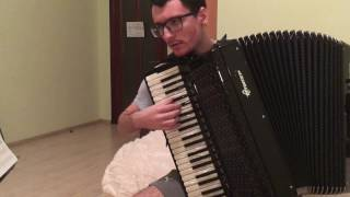 Chaos;Child Anime OP - Uncontrollable | Accordion Cover