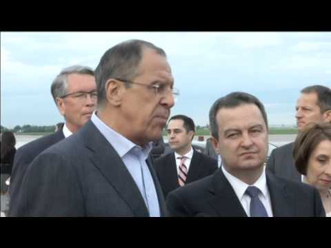Serbia's Balancing Act: Russian FM in Belgrade amid EU push for membership talks