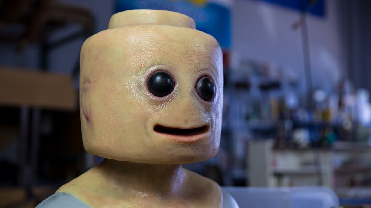 [Real Life Flesh Lego Man Is Terrific Nightmare Fuel] Video