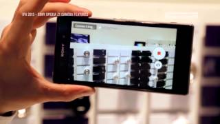 IFA 2013 SONY XPERIA Z1   CAMERA FEATURES