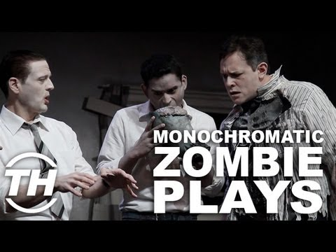 Monochromatic Zombie Plays - THTV catches up with Christopher Bond Director of Living Dead Live