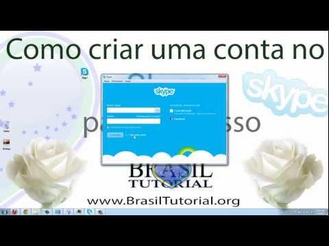 Skype - Como criar uma conta no Skype! Passo-a-passo. Tutorial