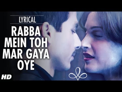 Rabba Mein Toh Mar Gaya Oye Lyrical Video | Mausam | Shahid Kapoor ,sonam Kapoor video