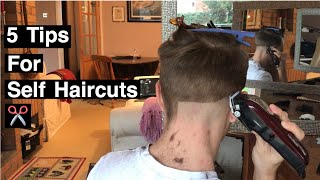 watch this before you cut your own hair | 5 TIPS FOR BEGINNERS | 2019 METHOD AND HACKS & ukulele lol