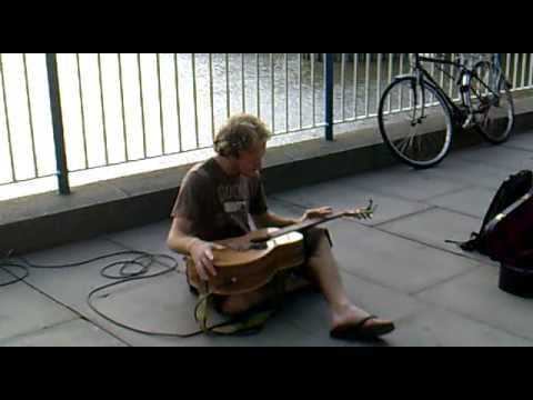 Probably the best Busker in the World. Music Videos