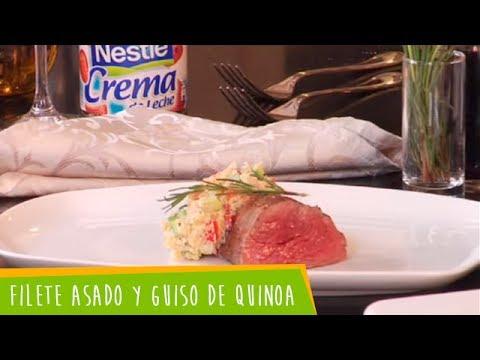Recetas Nestlé: Filete Asado y Guiso de Quinoa