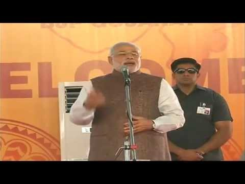 PM Narendra Modi in Ahmedabad