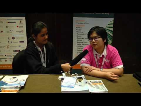 International Medical University Malaysia- Elaine - Singapore and Malaysia Education Expo 2015