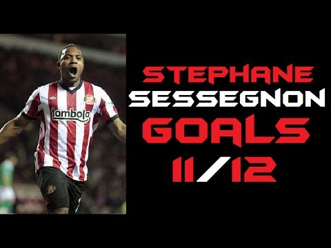Stephane Sessegnon - Sunderland Goals 2011-2012