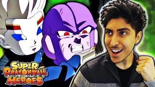 ZAMASU & UNIVERSE 6 RETURN! - Super Dragon Ball Heroes Anime Episode 7 ENGLISH REACTION