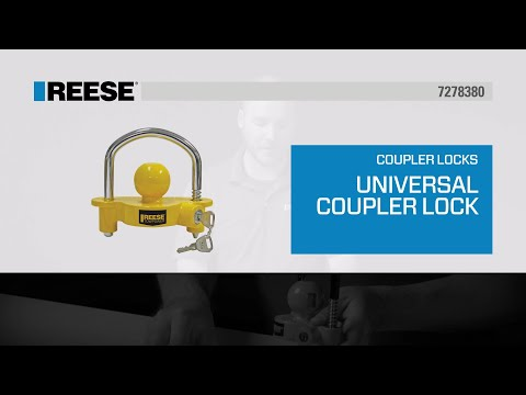 REESE® Universal Trailer Coupler Lock - 72783