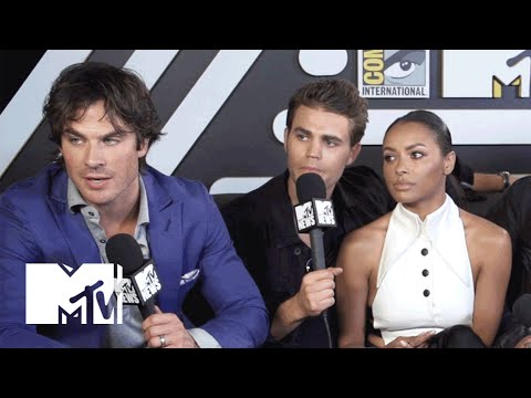 'Vampire Diaries' Cast Weighs In On Nina Dobrev's Possible Return | Comic-Con 2015