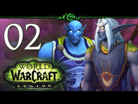 World of Warcraft: Legion Level 1-110 Ft. Dan | Priest | Part 2