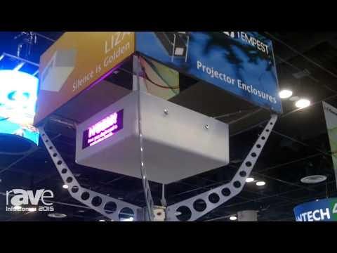 InfoComm 2015: Tempest Showcases LIZA Noise Reducing Projector Enclosure