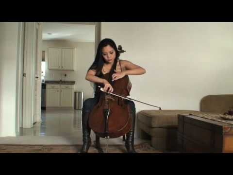 Tina Guo, cello: Foo Fighters Pretender http://www.youtube.com/watch?v=rIEdzaAcW-c Video