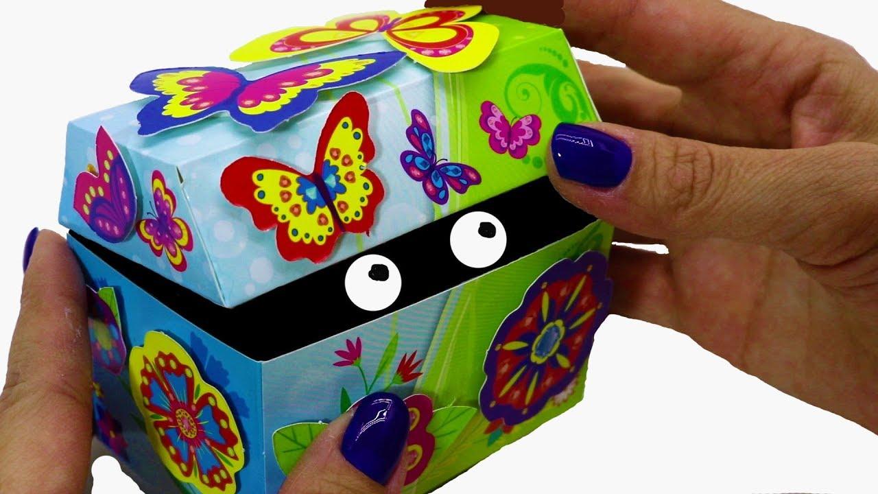 Коробочка сюрприз своими руками для детей 87