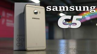 Samsung C5 - Обзор
