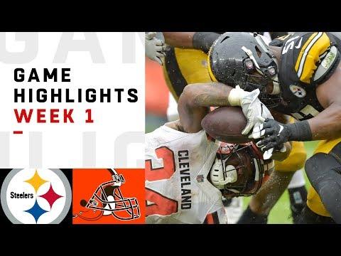 Steelers vs. Browns Week 1 Highlights | NFL 2018