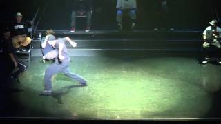 CROSS OVER【HIPHOP FINAL】KATO VS oSaam