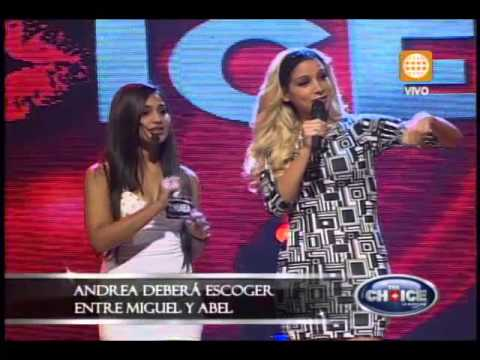 Andrea Arana en The Choice