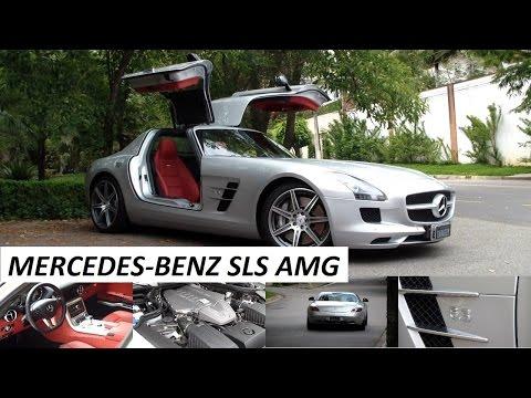 Garagem do Bellote TV: Mercedes-Benz SLS AMG