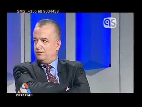 """Menduh Thaçi (PDSH) i ftuar në emisionin """"Prizëm"""" - TV Albanian Screen - 19.03.12"""