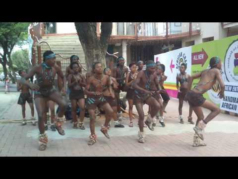 Amazing Zulu Street Performance Dance in South Africa!!